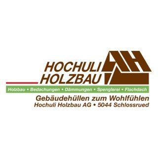 Hochuliholzbaulogo02 Mit Gebaudehulle